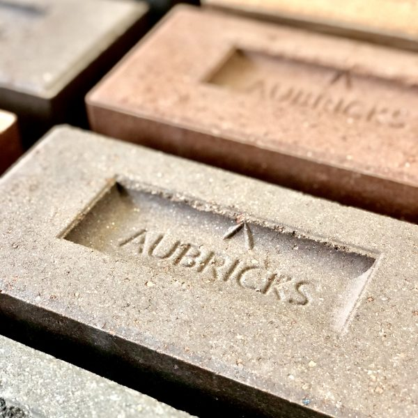 Aubricks Bricks with logo 1