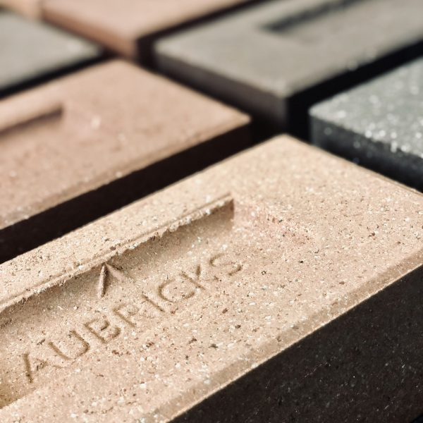 Aubricks Bricks with logo 3